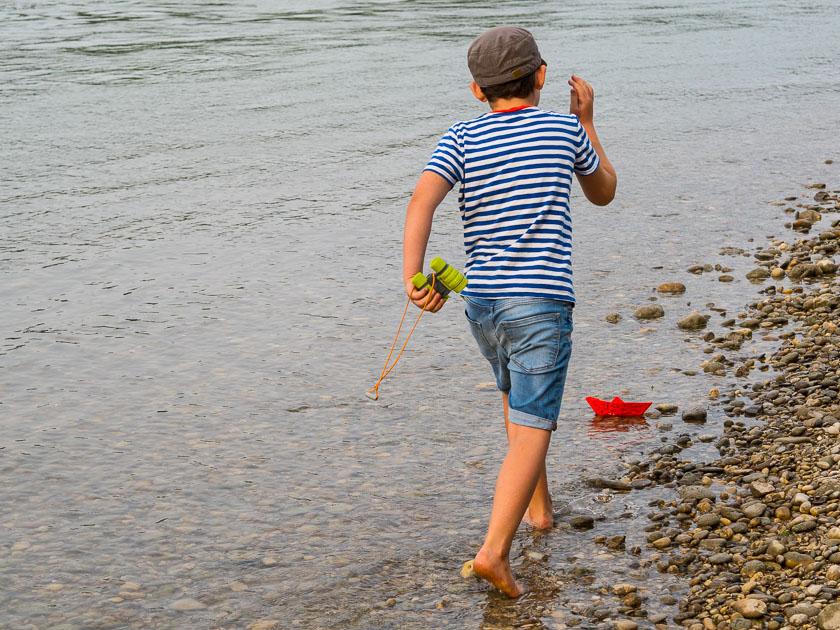 Sommerferien Bucket List_Schiffe fahren lassen