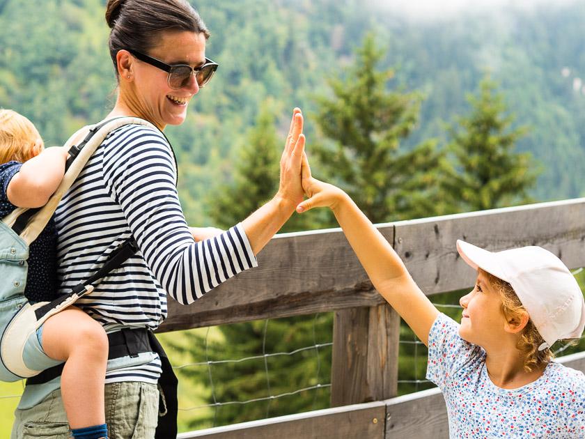 Feuerstein Nature Family Resort_Wandern als Familie