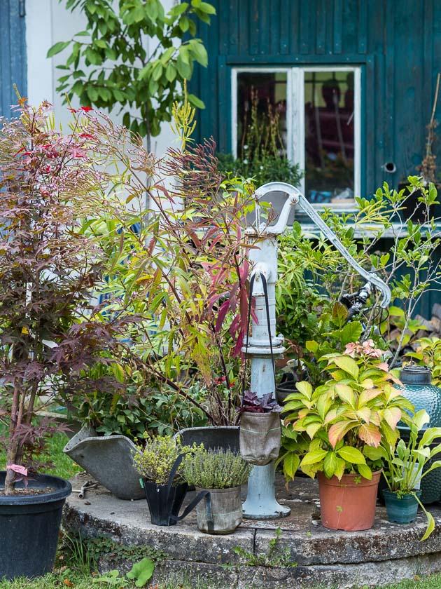 Gartenträume für Familien_Brunnen