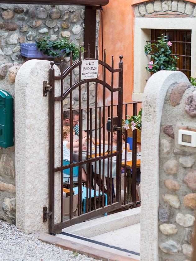 Urlaub am Gardasee mit Kindern_Abendessen