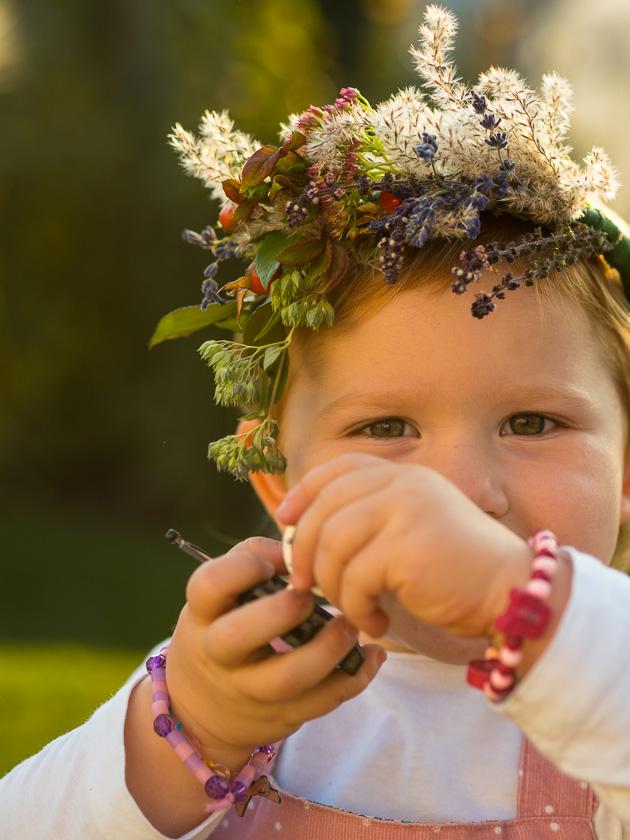 Brunchparty Kindergeburtstag für Mädchen_Haarkranz