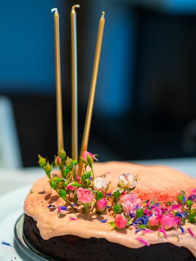 Geburtstagskuchen mit Gemüse _gesunde Torte