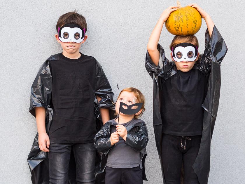 Last Minute Halloween_Fledermaus Kostüm