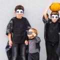 Last Minute Halloween_Kinder Vampir Kostüm