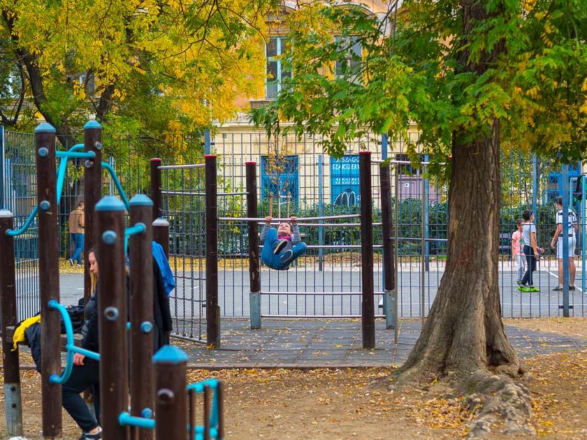 Budapest Guide mit Kindern_Spielplatz