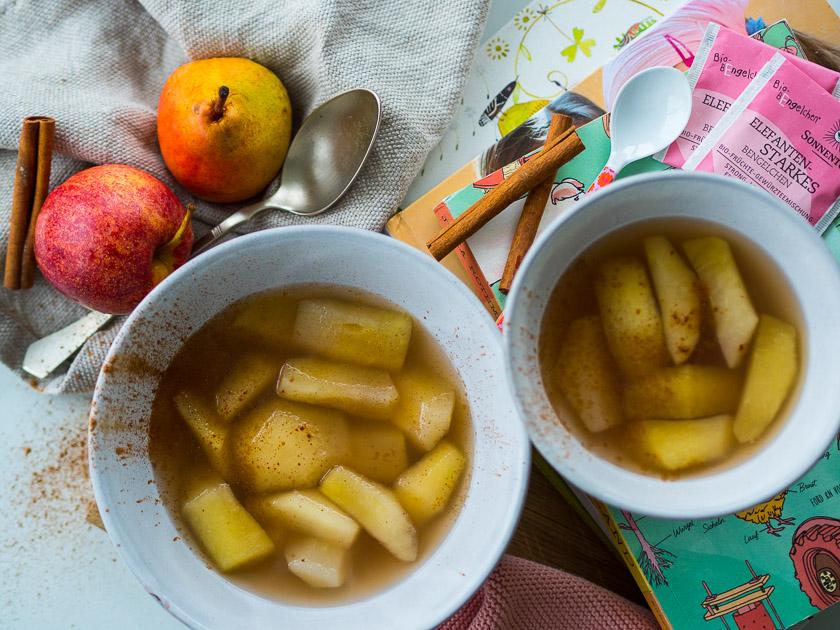 Familien Frühstückstisch_Obst Kompott Rezept