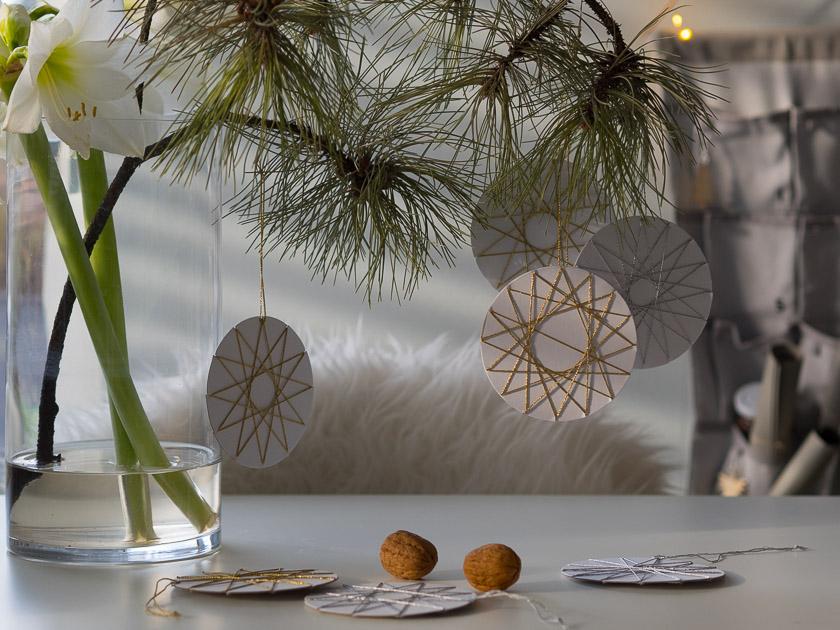 Hyggeliger Advent-Sonntag_Reisigäste mit Fadensternen