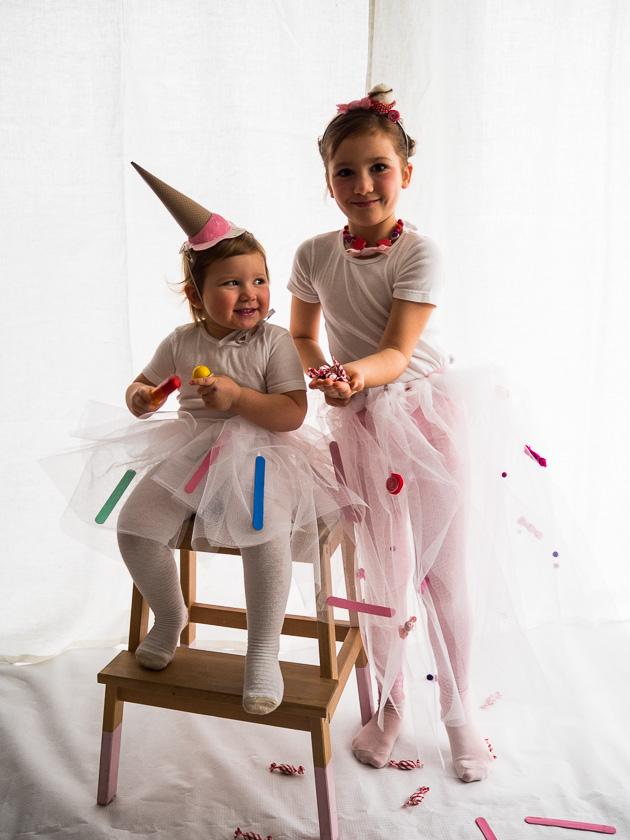 Familien-Faschings-Verkleidung_Zuckerl Kostüm