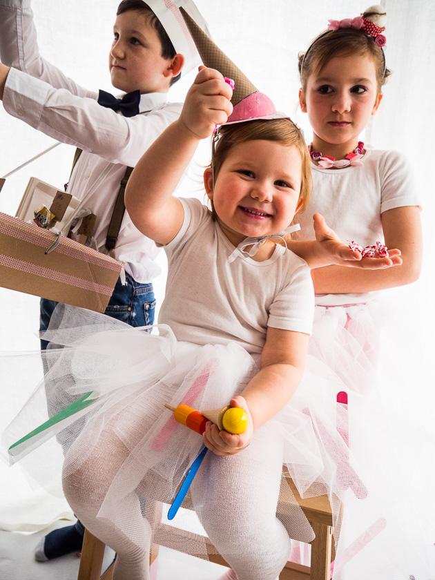 Familien-Faschings-Verkleidung_Eistüte