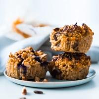 Gastkinder Notfall Haferflocken-Muffins gesund & in unendlich vielen Geschmacks-Kombis