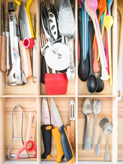 Küchenutensilien für Familien