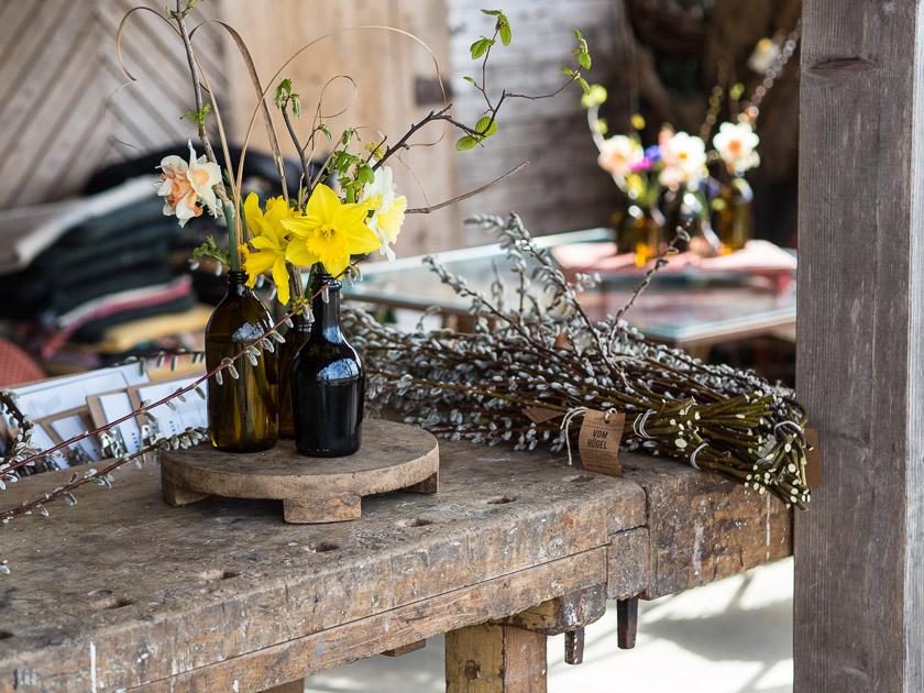 Familien-Küchengarten_floristische Kunstwerke