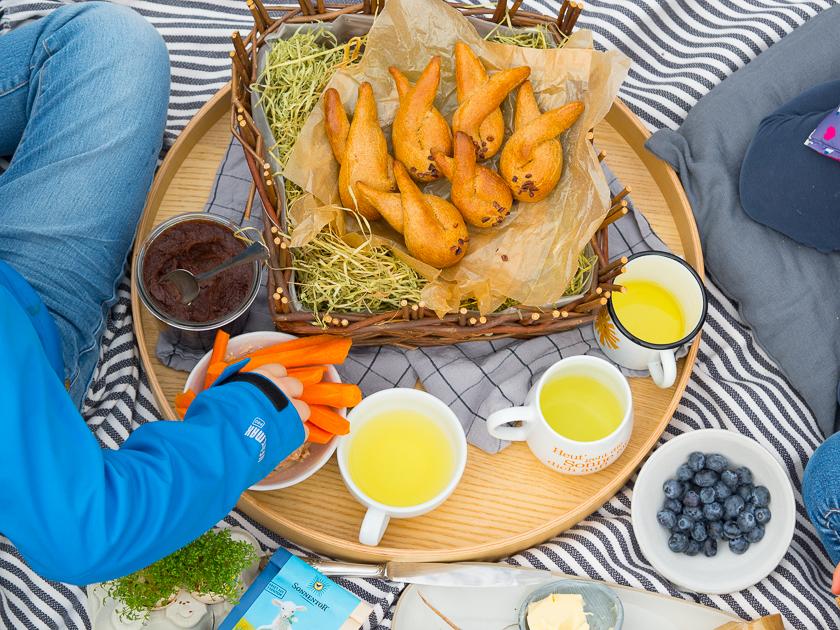 Ostern mit Kindern_Osterhasen aus Hefeteig