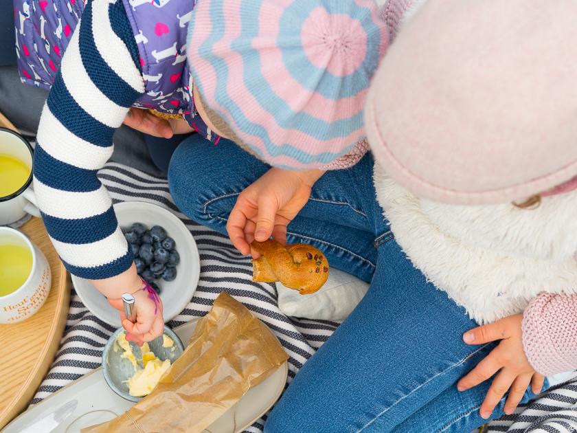 Ostern mit Kindern_Osterhasen aus Germteig