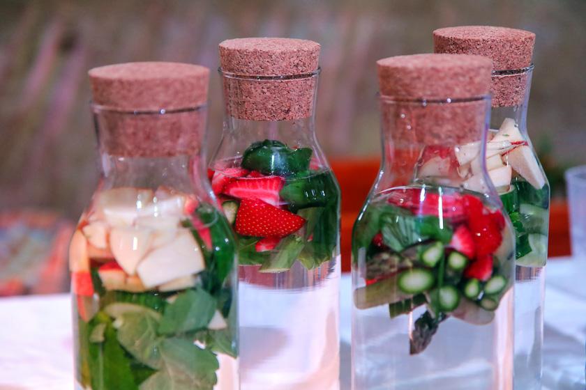 Kochevent Familienküche_Aromawasser
