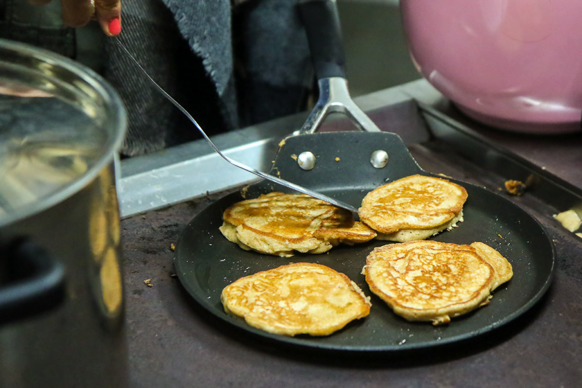 Kochevent Familienküche_gesunde Pancakes
