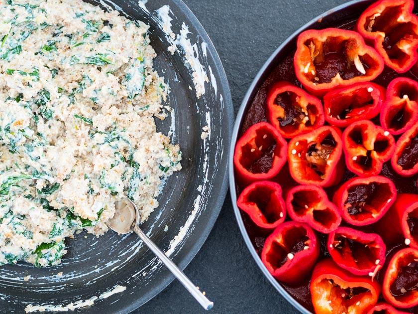 gefüllte Paprika, ein Familienrezept_Rezept für das Wochenende