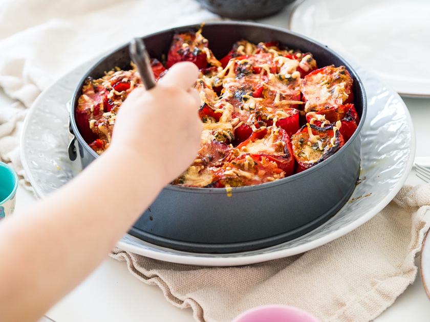 gefüllte Paprika, ein Familienrezept