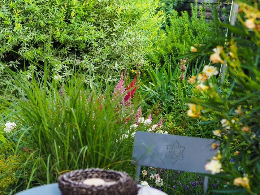Familiengarten für Faule_Bistrogarten