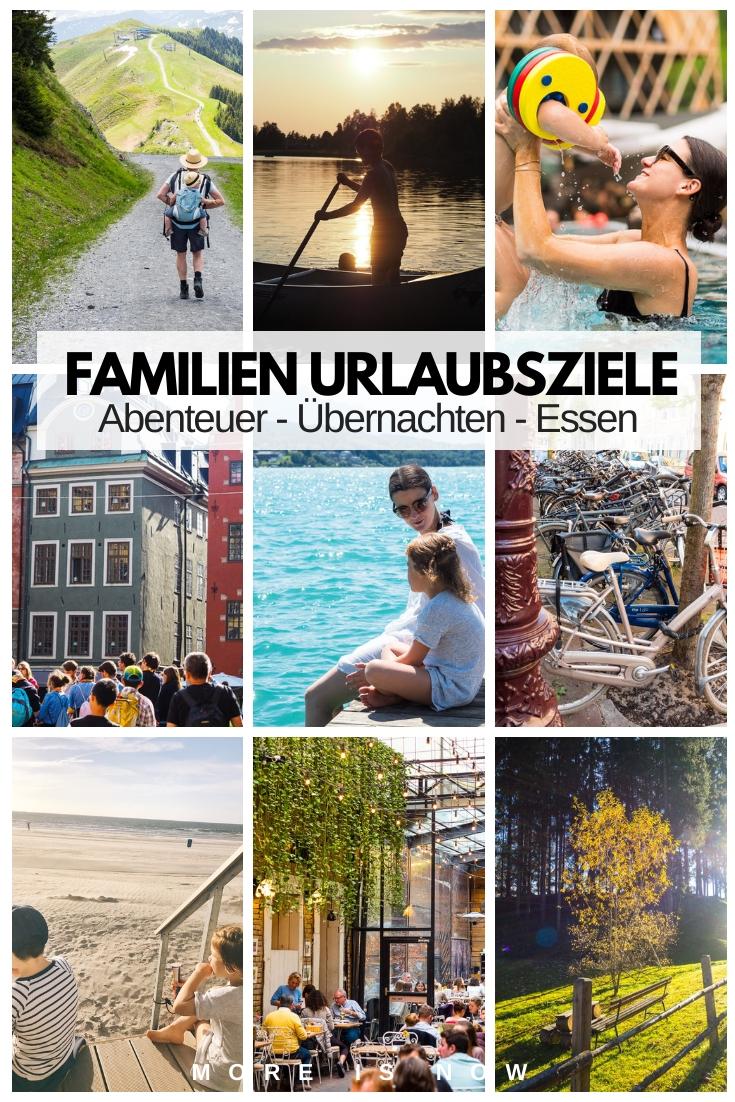 Familien Urlaubsziele