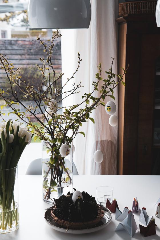 Bastelideen Ostern Osterbaum