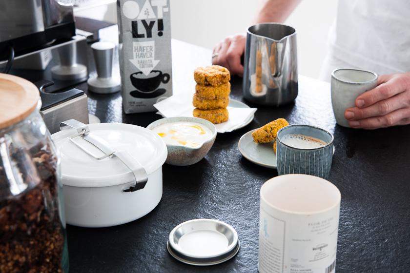 Siebträger Kaffeemaschine_Hafermilch
