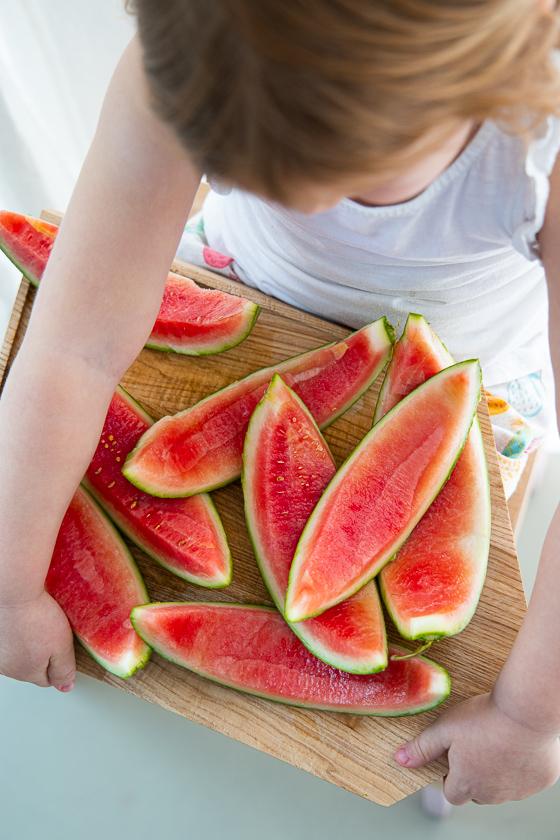 Wassermelone einlegen
