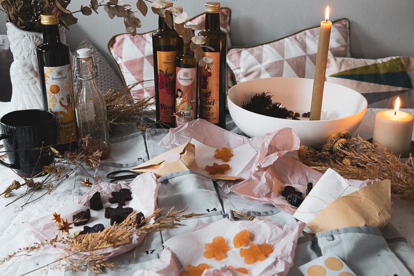 Adventkalender Füllung Fruchtgummis