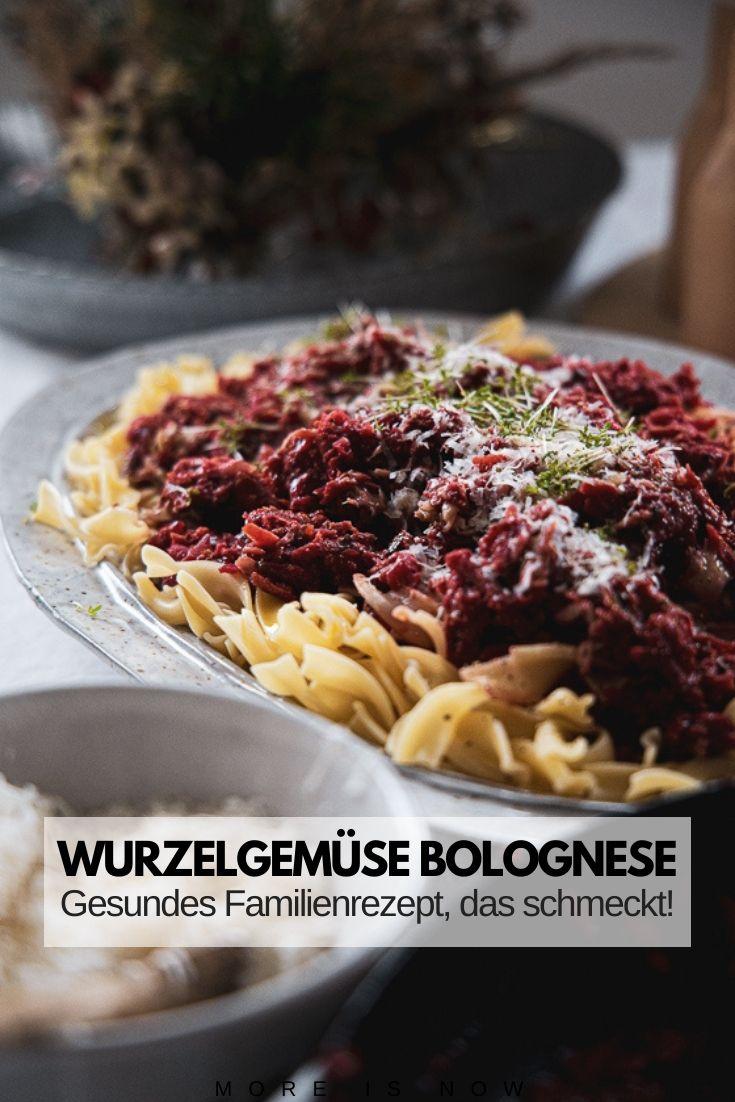 Wurzelgemüse Bolognese