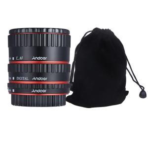 Andoer автофокусный макро удлинитель для Canon EOS EF EF-S TTL  автофокусные макрокольца