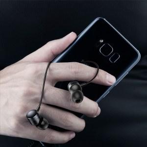 Baseus H04 Наушники с микрофоном  для мобильного гарнитура Распродажа