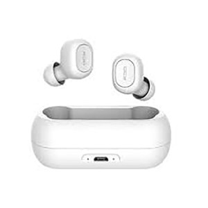 QCY QS1  Беспроводные  наушники  Bluetooth гарнитура с двойным микрофоном белый 380mA ОРИГИНАЛ