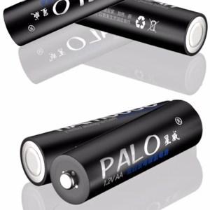 Аккумуляторная батарея  4хAA PALO 3000mah  1,2 В Ni-MH  Конкурент eneloop