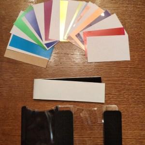 Набор цветных  гелиевых фильтров для  вспышки с креплением липучкой 11 шт