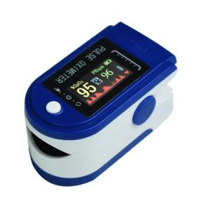 Пульсоксиметр на палець пульсометр Finger Pulse Oximeter