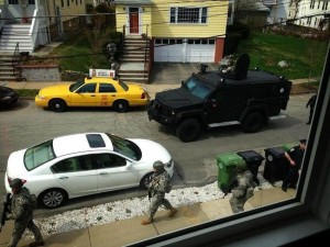 Boston lockdown