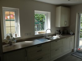 Garage Conversion and Kitchen in Southport by More Living Space