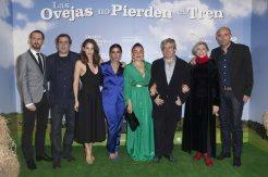Juan Gordon, Alvaro Fernández Armero y el reparto. Fotos de Nacho López (eOne Films Spain)