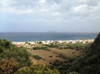 Panorama Milazzo con vista isole Eolie dal Castello