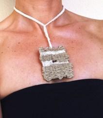 necklace textile 2