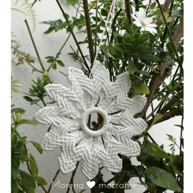 wallhanging white mandala Morena