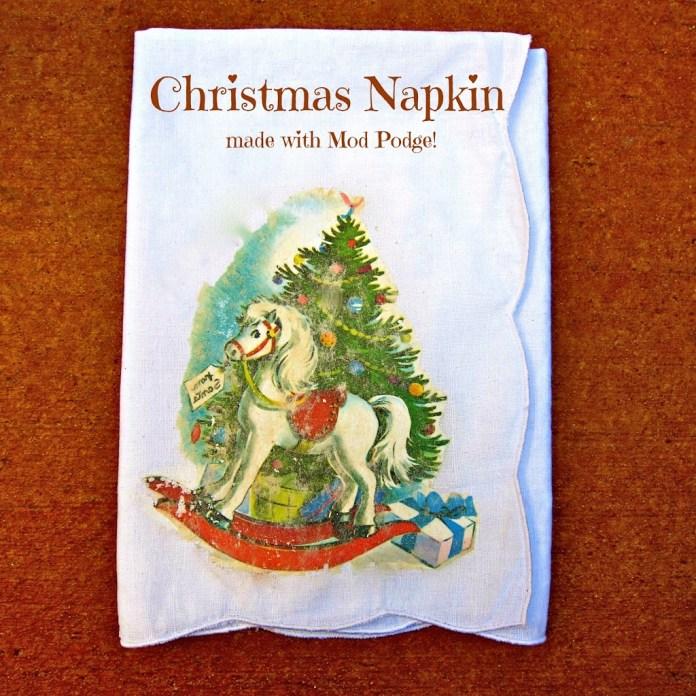 mod-podge-christmas-napkin