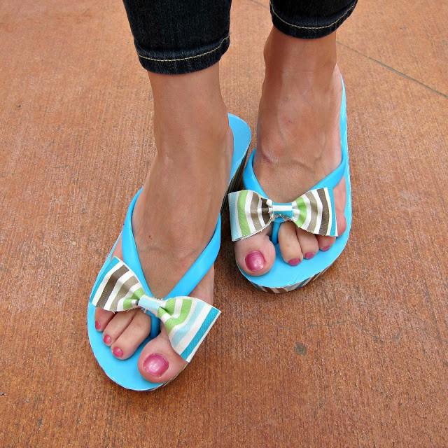 Refashioned-Flip-Flops