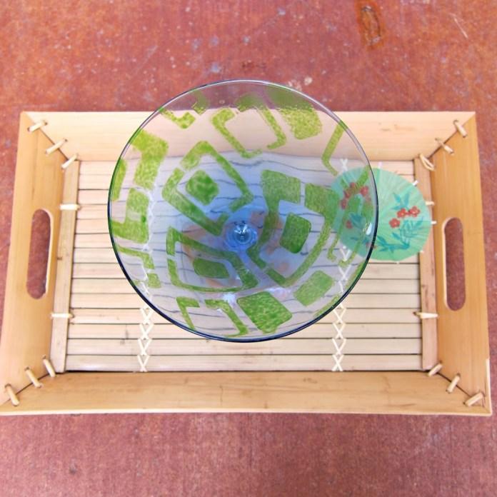 Tiki-Painted-Glass