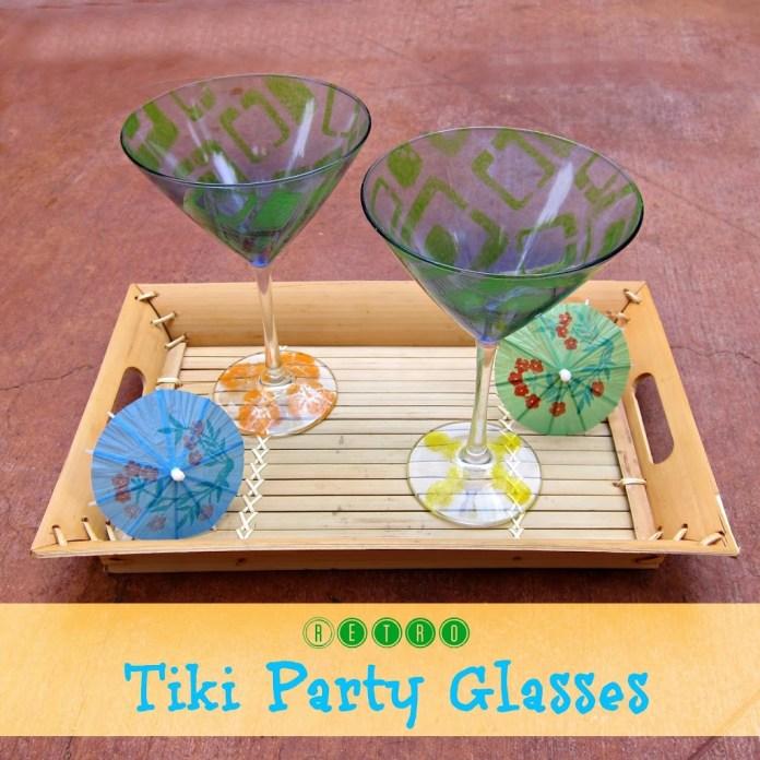 Tiki-Party-Glasses
