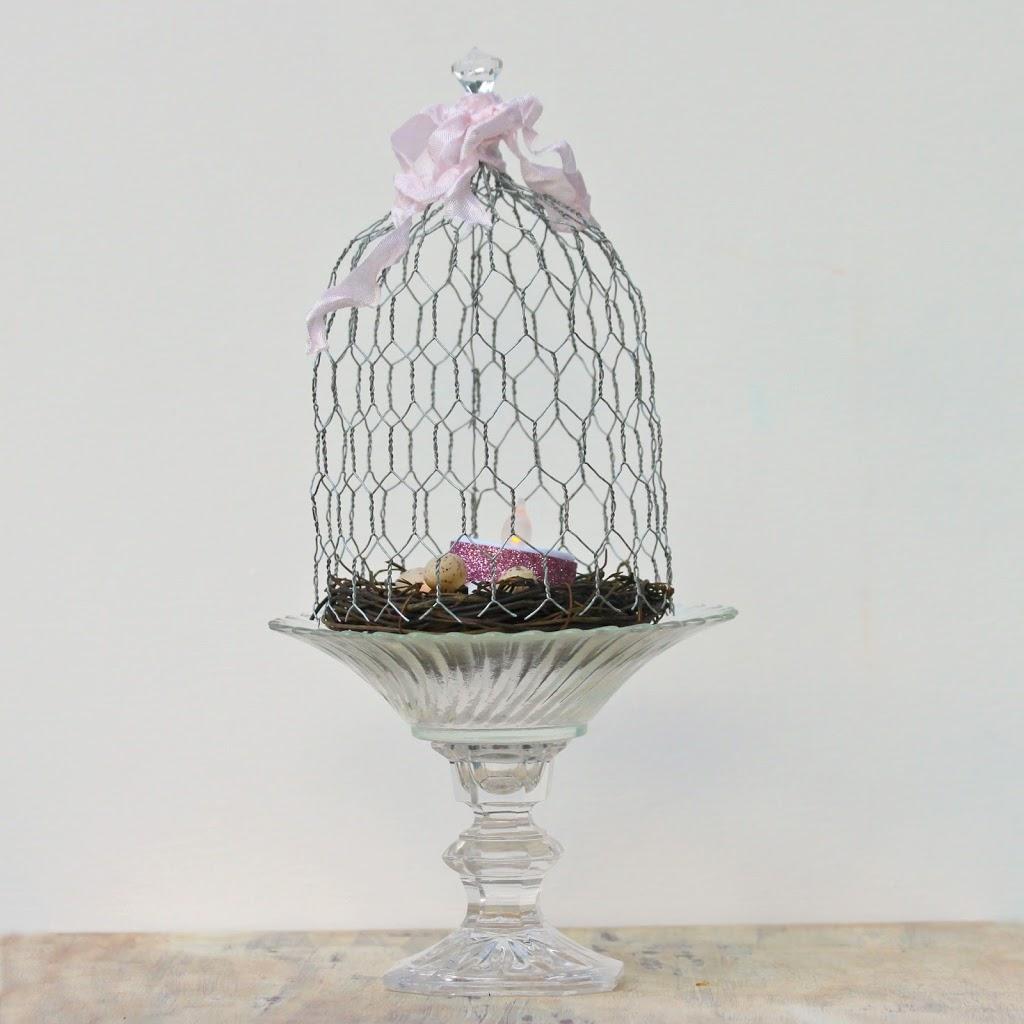 Chicken Wire Cloche DIY - Morena\'s Corner