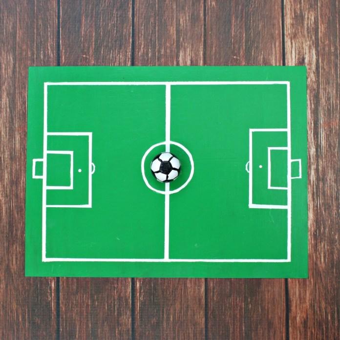 diy soccer board