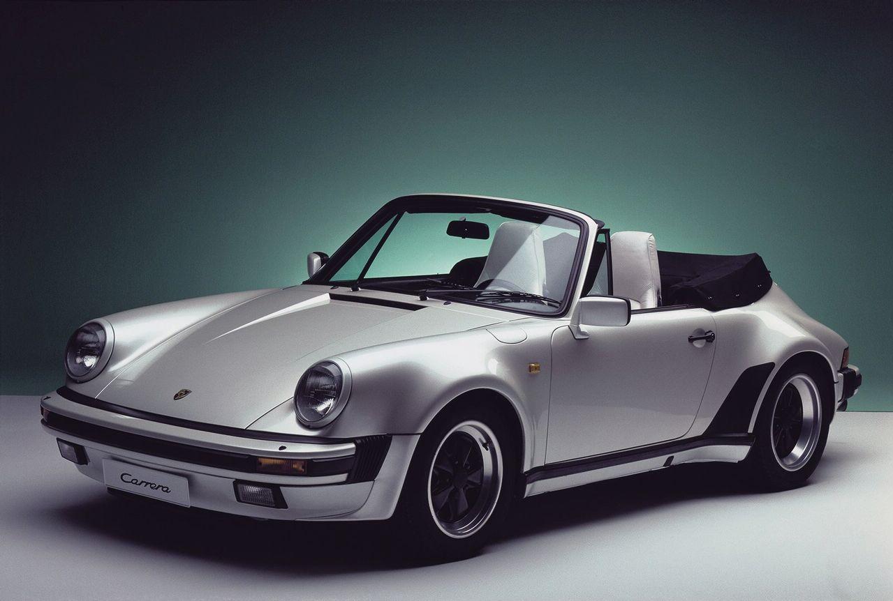 Porsche 911 Carrera 3.2 Cabriolet Turbolook MY 1985