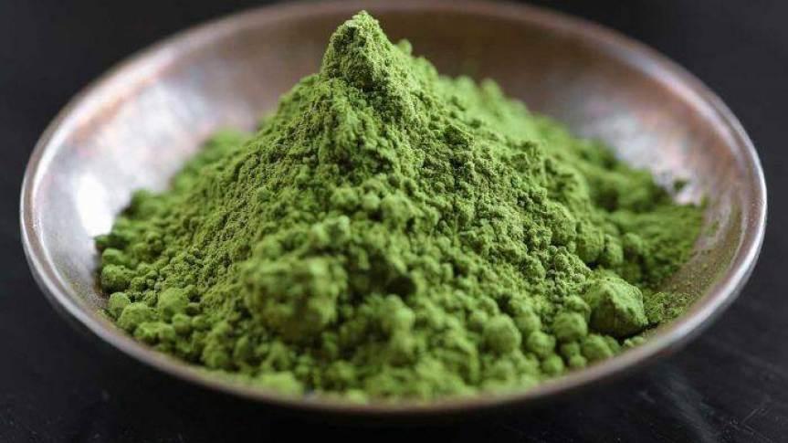 Bowl Of Kratom Powder