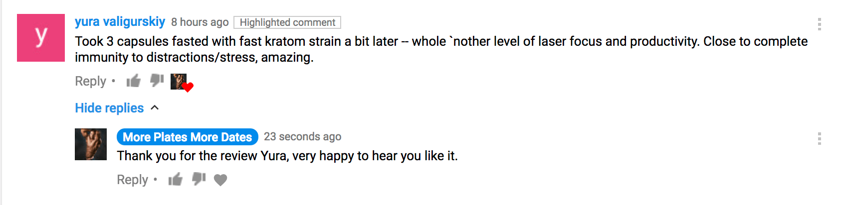 Gorilla Mind Rush Review In A YouTube Comment